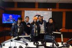 Radio interview in Bolivia